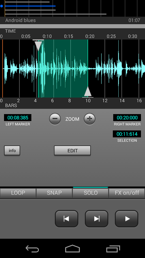J4T Multitrack Recorder- screenshot