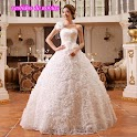 fhoto of wedding dresses