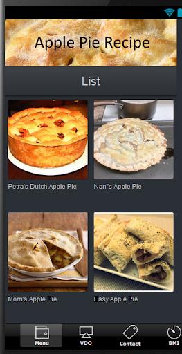 蘋果派食譜