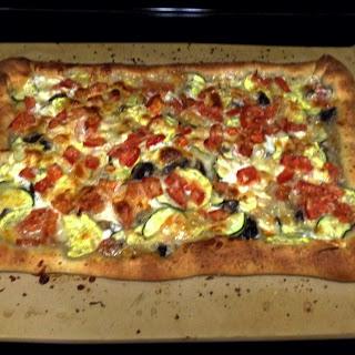Perfect Veggie Pizza