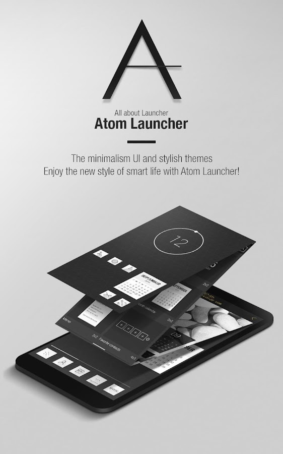 Atom Launcher- screenshot