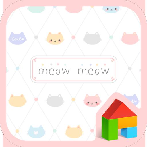 个人化のmeow meow dodol theme LOGO-記事Game