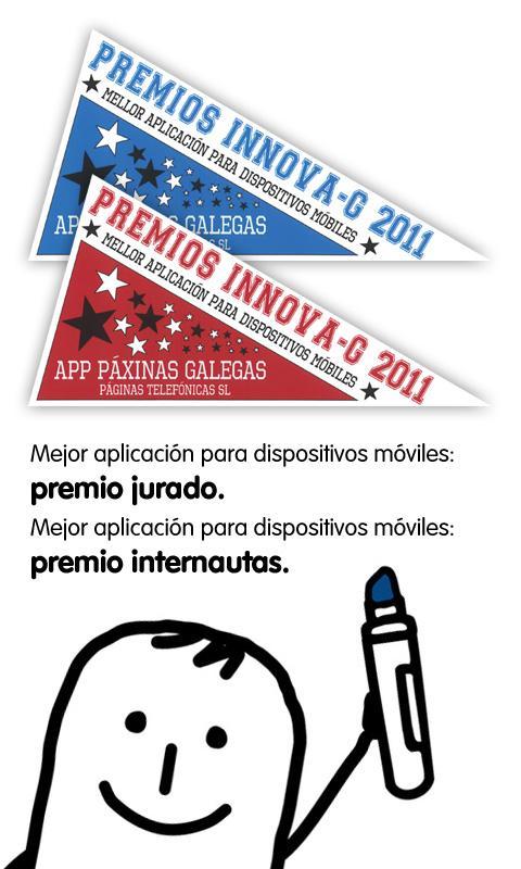 Páxinas Galegas- screenshot