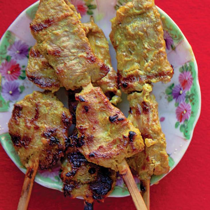 Muu Satay (Thai Pork Satay) Recipe
