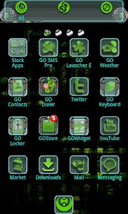 How to download Alien X GO Launcher EX patch 1.0 apk for android