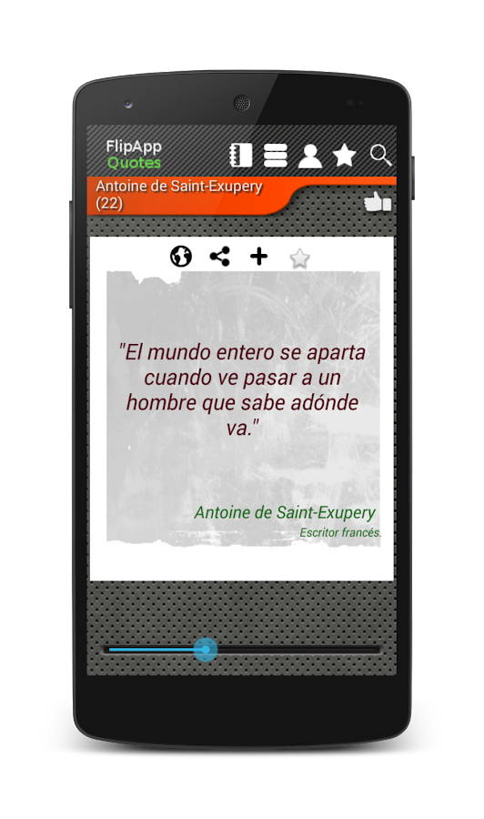 Famous Quotes Spanish- screenshot