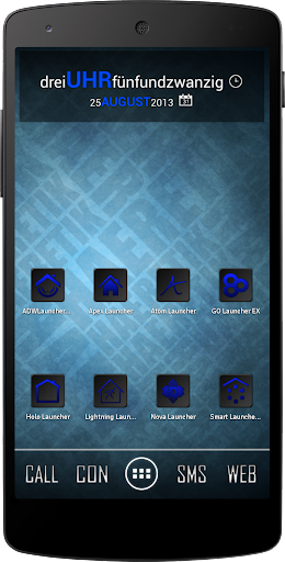 Apex Nova Semiotik Blue Icons