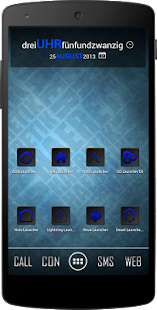 Apex/Nova Semiotik Blue Icons- screenshot thumbnail