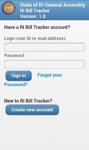 RI Bill Tracker