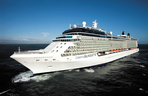 Celebrity_Silhouette_at_sea - Celebrity Silhouette will provide you with the most sophisticated cruise experience