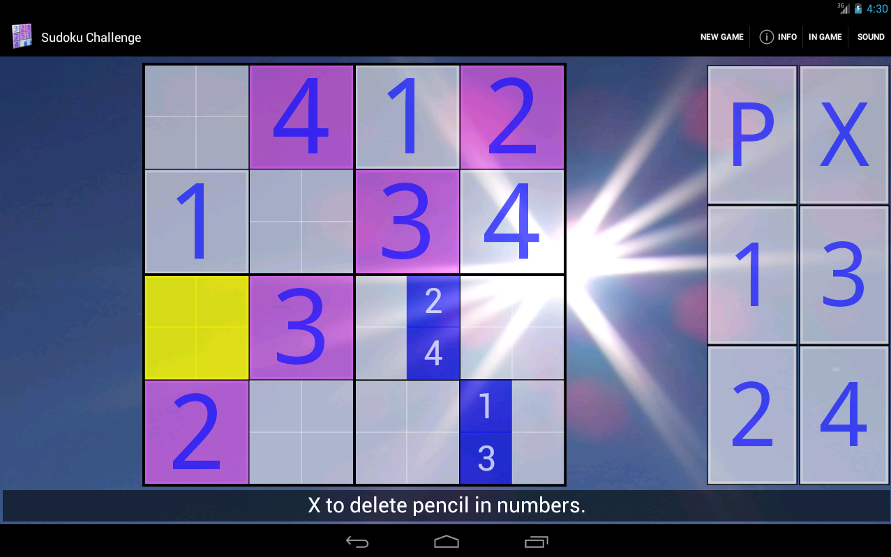 Sudoku Challenge HD - screenshot