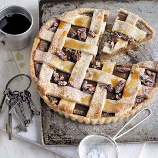 Butternut, Maple & Pecan Lattice Pie