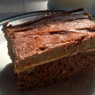 Peanut Butter Fudge Cake.