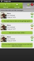 Screenshot of BOOM! Fake call and SMS
