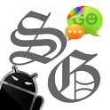 GOSMS SkullGray Theme - Free icon