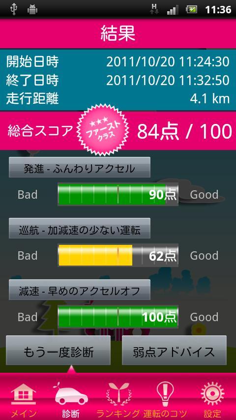 TOKYO SMART DRIVER 乗り心地診断- screenshot