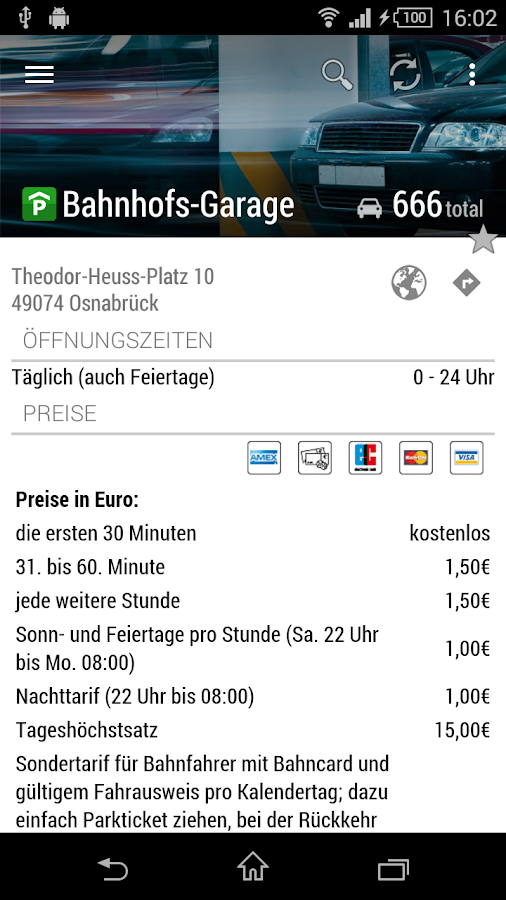 OPG Parking- screenshot