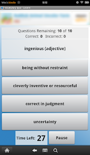English Vocabulary Level 4- screenshot thumbnail