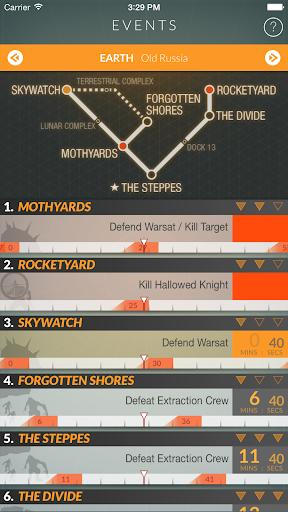 Destiny Public Events Tracker 3.3 screenshots 2