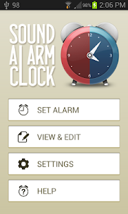 Sound Alarm Clock Lite - screenshot thumbnail