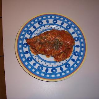 Chicken with Tomato Vinaigrette Recipe