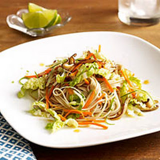 Soba Noodles with Sesame-Lime Dressing