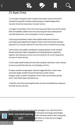 Ayat Nasihat Cinta - screenshot