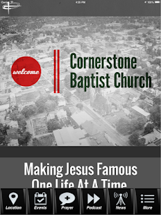 Cornerstone Baptist Church- screenshot thumbnail