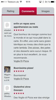 GlutenfreeRoads.com - screenshot