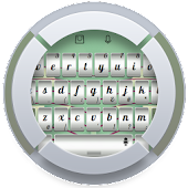 Silver TouchPal Theme