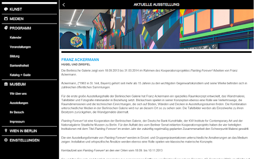 WIEN BERLIN Moderne Kunst - screenshot thumbnail