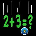 Falling Math logo