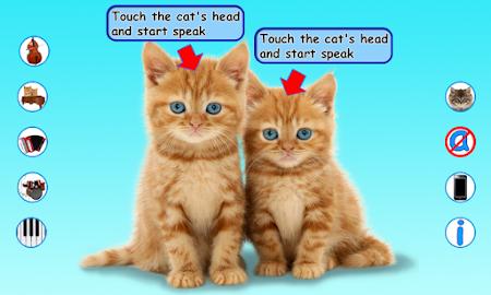Talking Cats 1.2.0 screenshot 322623