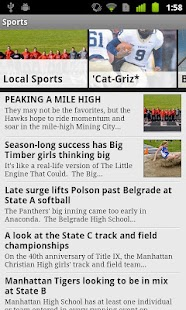 Bozeman Daily Chronicle - screenshot thumbnail