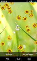 Screenshot of Flower photo Live Wallpaper