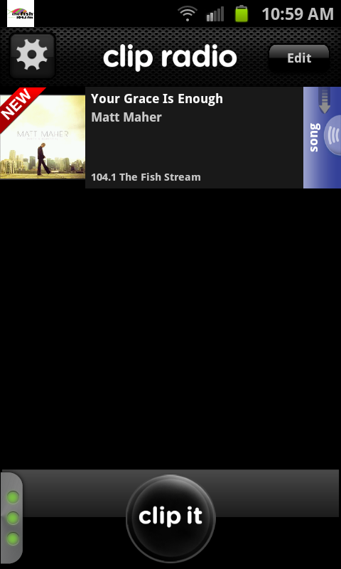 104.1 The Fish-FM - screenshot