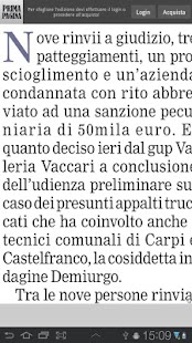 Prima Pagina Edicola Digitale - screenshot thumbnail