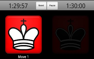 Screenshot of Chess Clock