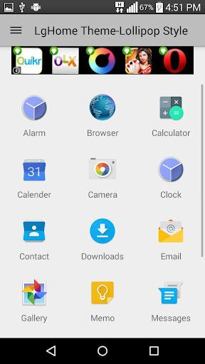 玩個人化App|Theme for LG Home- Lollipop免費|APP試玩