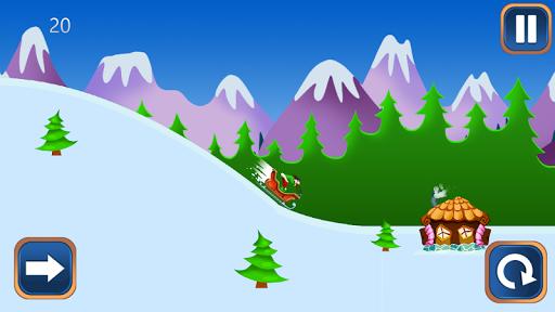 免費賽車遊戲App|冬季雪橇冒险|阿達玩APP