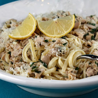 Pioneer Woman's Linguine with Clam Sauce.