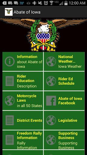 Abate of Iowa