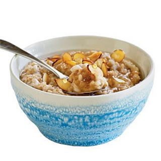 Overnight Honey-Almond Multigrain Cereal.
