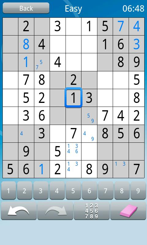 Sudoku :)- screenshot