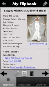 iBridalGown Shopping Assistant screenshot 1