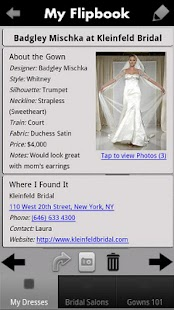 iBridalGown Shopping Assistant - screenshot thumbnail