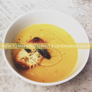 Butternut And Lemongrass Soup