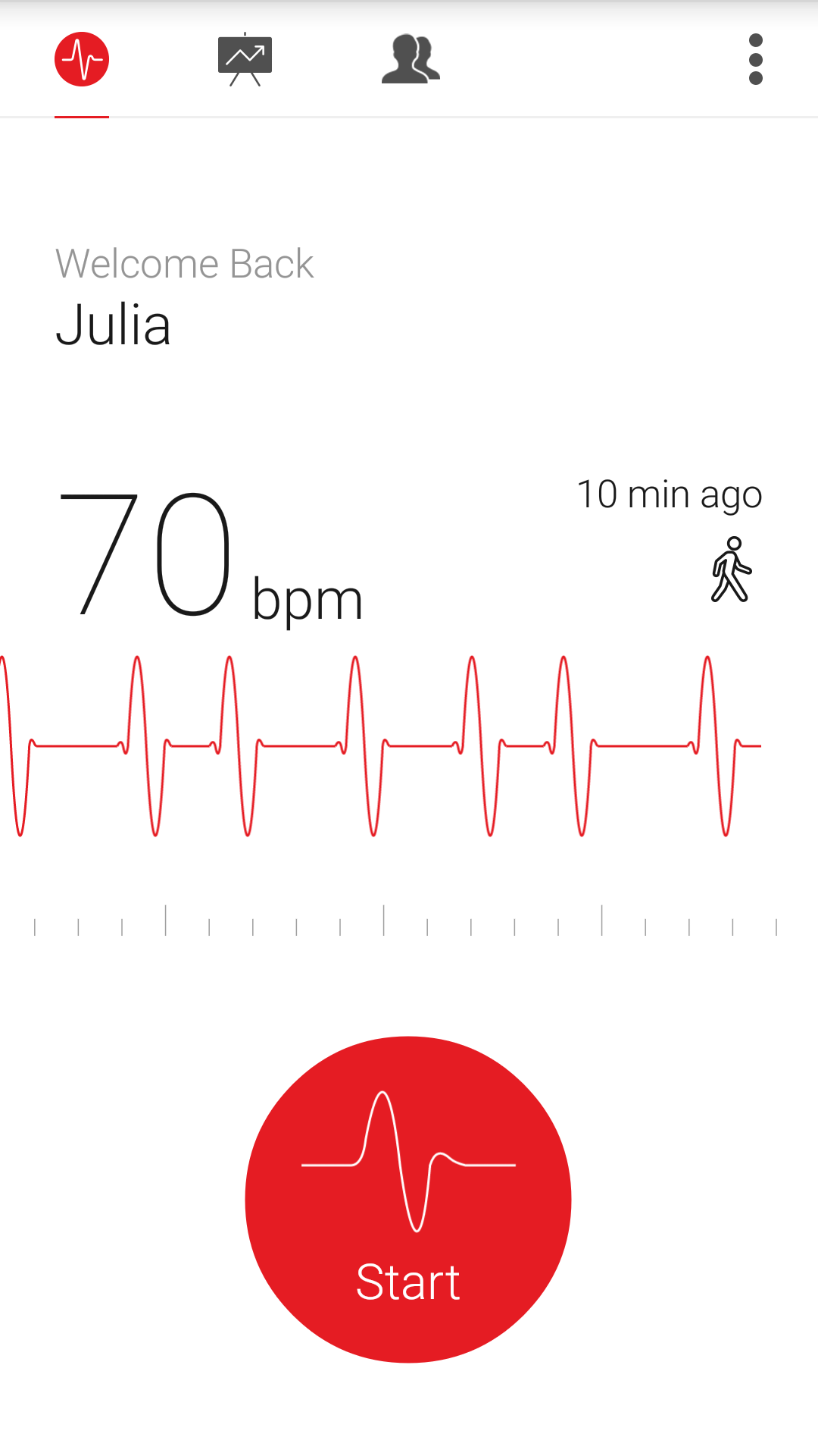 Cardiograph - Heart Rate Meter screenshot #2