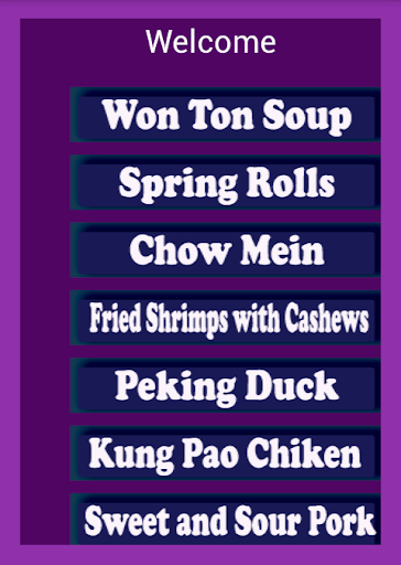 Top Chinese Food