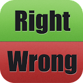 Right Wrong Top Free Word Game